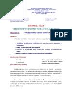 TALLER DE LABORATORIO N°.01