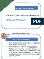 2nd Clasificacion de La Investigacion