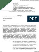 TutCautAnt 1000664-42.2017.5.02.0000 DECISAO LIMINAR