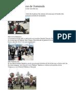 21 Danzas Folklóricas de Guatemala Con Imagen