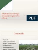 2-2 Fundamentos Del Riego