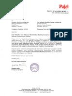 Patel Engineering Ltd Has Informed Exchange Regarding Meeting Of Shareholders' Convened As Per Directions Of National Company Law Tribunal. [AGM/EGM]