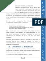 La Integracion, De Lo Constructivo a Lo Operativo(1)