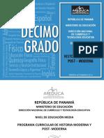 Programas Educacion Media Academica Historia Moderna 10 2014