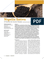 Nigella Seed Clinical Trial