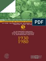 CARLOS CONTRERAS (Editor) - Compendio de Historia Económica Del Perú - Tomo V