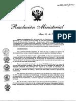 Rm Nº 080-2017-Minsa Lineamientos Rrhh