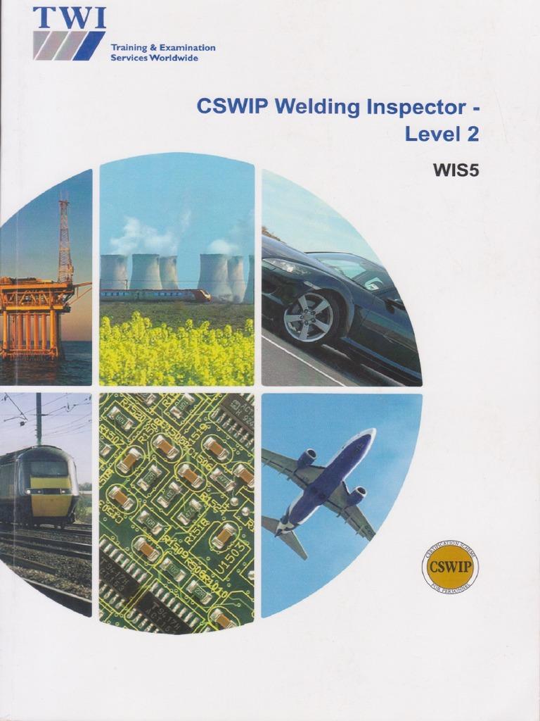 CSWIP 3.1 Study Book 2013 Rev 2 Edition | Welding | Nondestructive ...