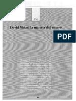 LÓPEZ - David Viñas, La Materia Del Ensayo
