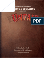 Unfair the Boardgame Rulebook