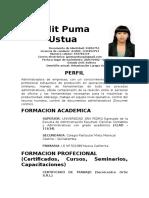 Judit Puma Ustua
