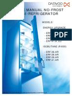 daewoo  SERVICE MANUAL NO-FROST COMBI-REFRIGERATOR ERF-364_367_ ALL AR-EU MODELS.pdf