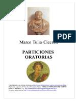 Ciceron Marco Tulio - Particiones Oratorias (Bilingue)
