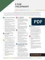 PRINCIPLES FOR  DIGITAL DEVELOPMENT