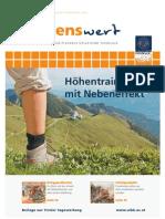 wissenswert 10 - Magazin der Leopold-Franzens-Universität Innsbruck