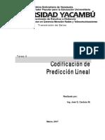 Tarea 2 -Linear Prediction