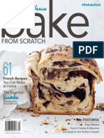 Bake From Scratch - Spring 2016