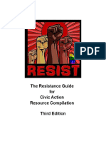 The Resistance Guide for Civic Action Resource Compilation - Third Edition