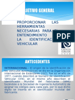 Identificación Vehicular 2017