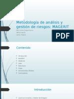 Metodología de Análisis y Gestión de Riesgos MAGERIT