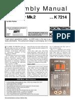 Construccion de un medidor  ESR   kit modelo k7214