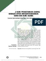 29. Islamisasi Sains