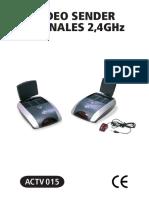 Manual Video Sender