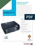Projector Spec 3609