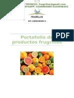 Portafolio de Productos Frugrillos