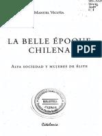 Vicuña, Manuel - Belle Epoque cap. 1