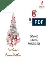 Catalogo Canastas Grillcorp 2016