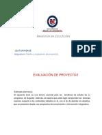 1- Evaluación de Proyectos