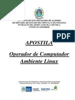 Apostila - Operador de Computador - Ambiente Linux