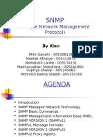 SNMP Presenation by Xian