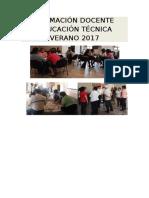 Formación Docente Educación Técnica Verano 2017 (1)