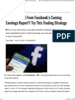 Want to Profit From Facebook's Coming Earnings Report_ Try This Trading Strategy - TheStreet