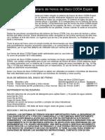 2002 Coda Expert Disc Brake Owners Manual Supplement Es
