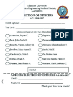 Merged Ballot