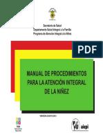 Manual Procedimientos AIEPI 2013
