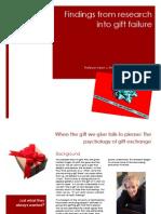 Gift Failure Report PINE