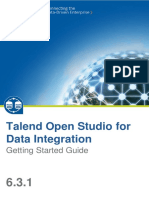 Talend Open Studio - Getting Started 6.3.1