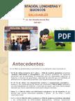 Alimentación, Loncheras y Quioscos Saludables - Brisette Herrera