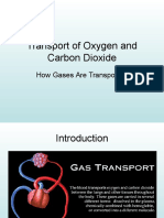 Transport of Oxygen and Carbon Dioxide-partial