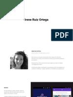 Portfolio - Irene Ruiz