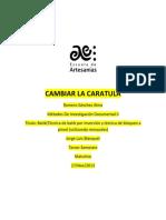 Ejemplo Ejemplo Anteproyecto Batik Por Inmersión 2013