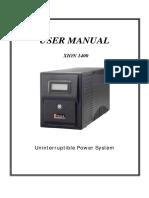 Manual UPS Polaris XION1400