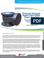 Pressure Vacuum Relief Valve Flame Arrester 102
