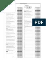 Service Bar Checklist