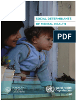 Social Determinants Mental Health