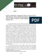 16 Gagnebin Resenha Werner Limiar Vol 3 Nr 6 2 Sem 2016